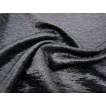 Textured Silk Suiting- Midnight Blue