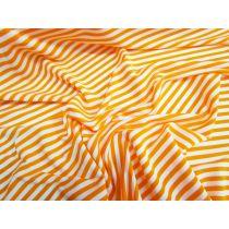 Lustrous Stripe Stretch Jersey