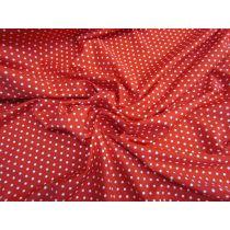 Rockabilly Spot Spandex- Red