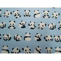 Panda Play Cotton- Blue