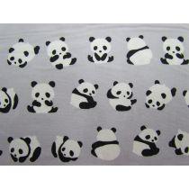Panda Play Cotton- Grey