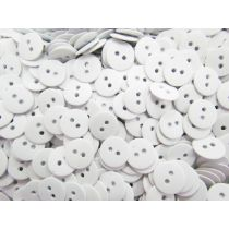 Heavy Fashion Buttons- White FB101
