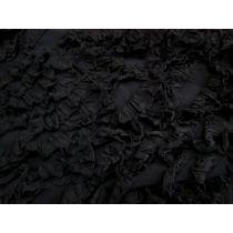 Lola Tubular Ruffle Jersey- Black