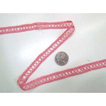 27.4m Roll of Strawberry Sundae Lace Trim