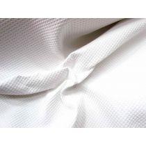 Thick Waffle Cotton- White
