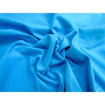 Comb Cotton Spandex- Ocean Aqua