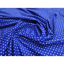 Rockabilly Spot Spandex- Royal Blue