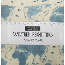 Weather Permitting Charm Pack by Janet Clare for Moda fabrics