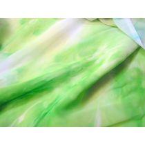 Tye Dye Chiffon- Lime