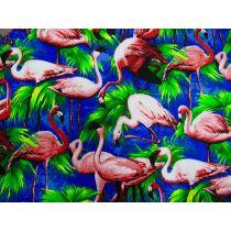 Flamingo Cotton- Royal
