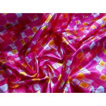 Bedrock Foil Spandex- Pink