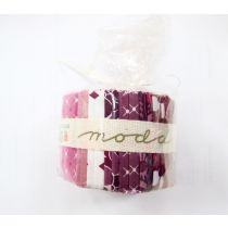 Moda Simply Colourful II 1/2 Jelly Roll- Pink