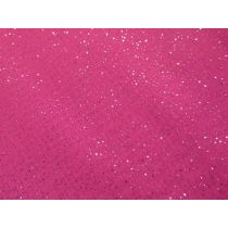 Glitter Chiffon- Hot Pink
