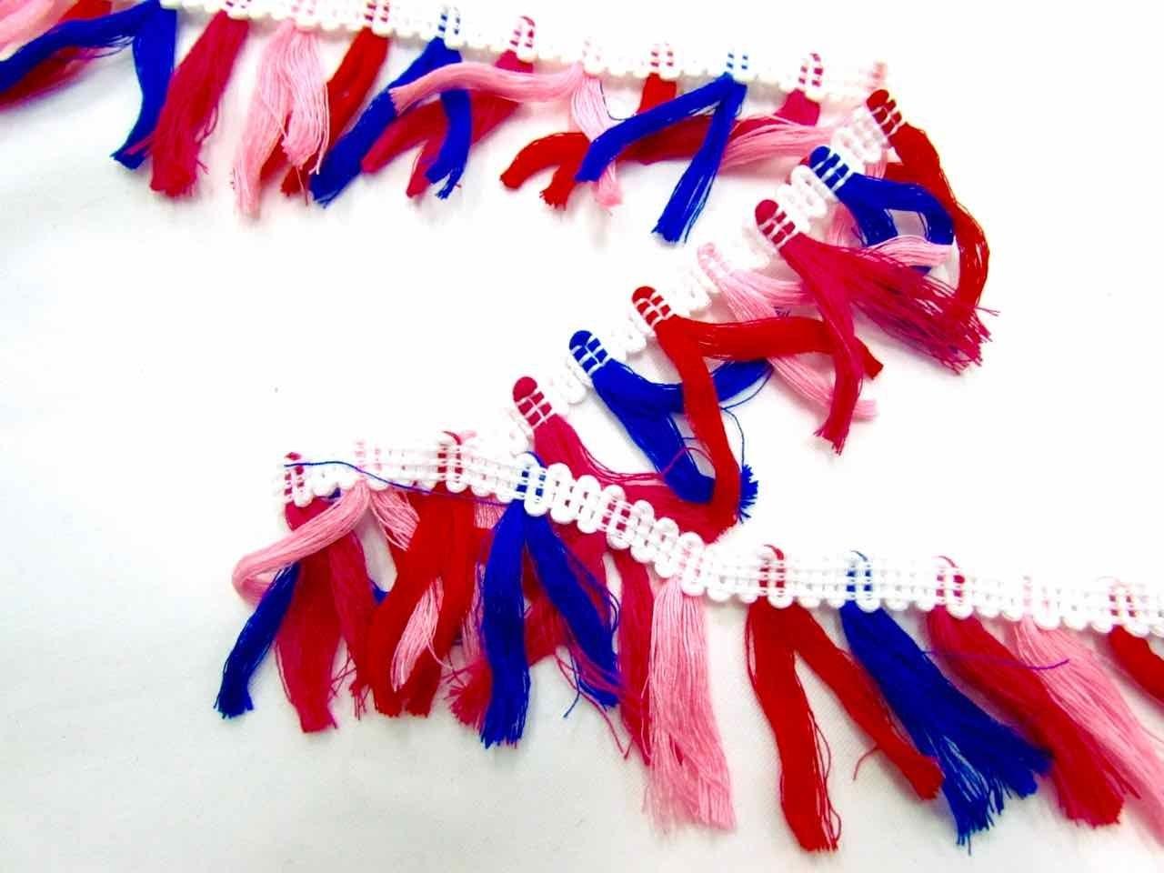f1e0e735f3e4 Mariachi tassel fringe white online fabric store the remnant jpg 1280x960  Blue and white tassel fringe
