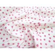 Spot Cotton Poplin- Pink
