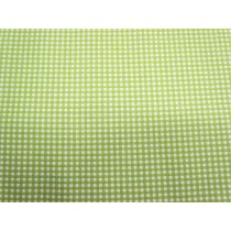 A Day In The Country- Medium Check- Lime Green