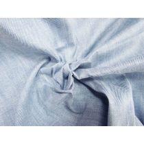 Light Blue Linen Blend Stretch Denim