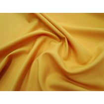 Australian Made Wool Blend Suiting- Saffron Gold