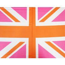Union Jack- Panel- Pink #571