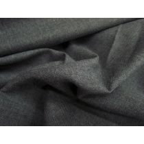 Australian Made Wool Blend Suiting- School Grey