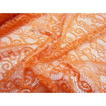 Apricot Dreams Stretch Lace