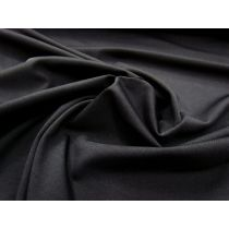 Heavyweight Dense Matte Spandex- Black #978