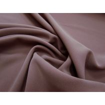 Double Faced Bonded Stretch Crepe- Dusky Pink #987