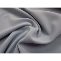 Double Faced Bonded Stretch Crepe- Dusty Periwinkle #988