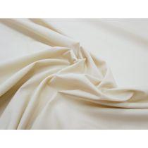 Cotton Blend Poplin- Bone Beige