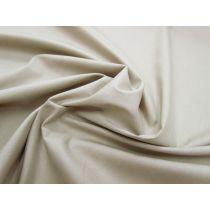 Designer Stretch Cotton Poplin- Light Sage Beige