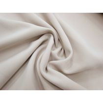 Bonded Stretch Crepe- Soft Beige #1033