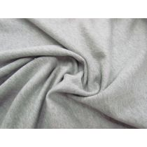 Unbrushed Cotton Fleece- Grey Marle #1046