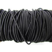 4mm Bungee Cord Elastic- Black #008