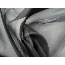 Silk Blend Organza- Black #1093