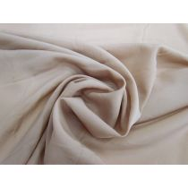 Lightweight Crepe de Chine- Fawn Brown #1124
