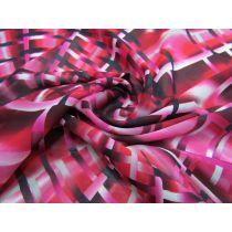 Shattered Glass Chiffon- Pink