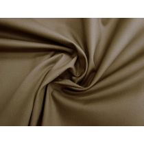 Stretch Cotton Canvas- Taupe Brown #1189