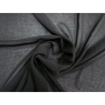 Gauze Look Polyester- Black #1205