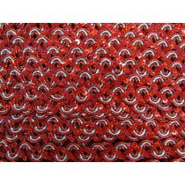 16mm Carnival Sequin Braid Trim- Red