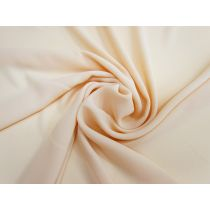 Crepe De Chine- Peach Cream #1244