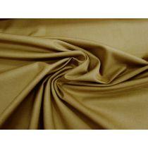 Smooth Cotton Gabardine- Deep Camel #1269