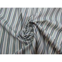 Wider Seaside Stripe Embroidered Cotton #1328