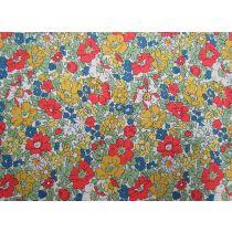 Liberty Cotton- Cosmos Meadow Yellow- The Cottage Garden Collectio