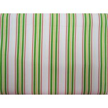 Multi Stripe Cotton- Red/Green/Yellow