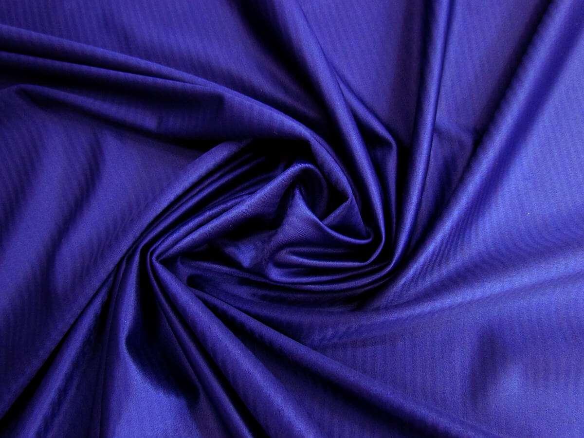 52124bcfe2f51 Self Stripe Satin Feel Spandex- Royal Purple #1578 | Online Fabric ...