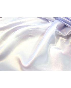 112cm Satin- White