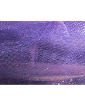 Metallic Net- Purple