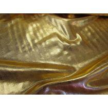 Liquid Foile Lycra- Gold