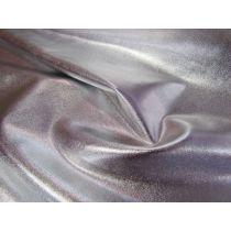 Liquid Foile Lycra- Silver