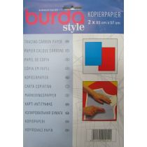 Burda Style Carbon Tracing Paper- Red/Blue